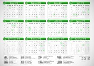 calendario 365
