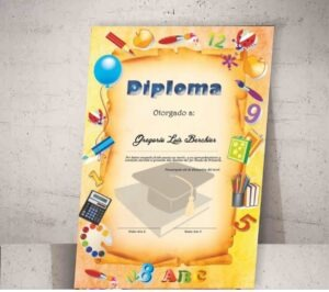 Diplomas en pergamino