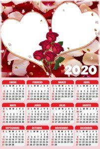 calendario 2020 psd