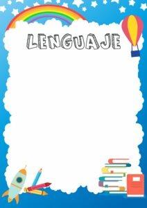 Caratulas de lenguaje