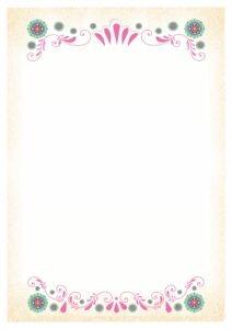margenes para cuadernos faciles