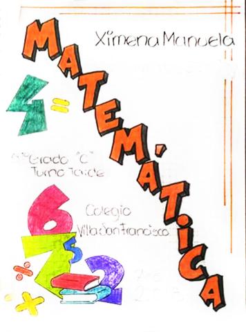 caratula de matemática