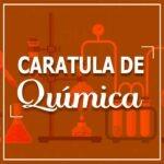Caratula para cuadernos quimica