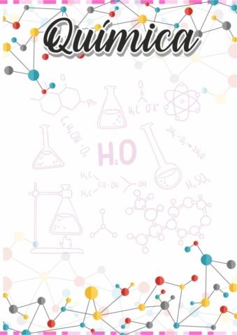 caratulas de química