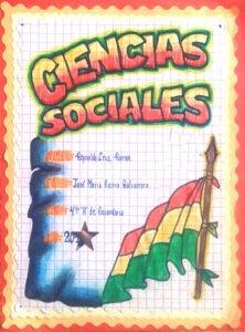 Caratulas para ciencias sociales