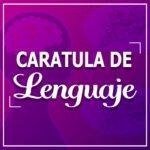 Caratula para cuadernos lenguaje