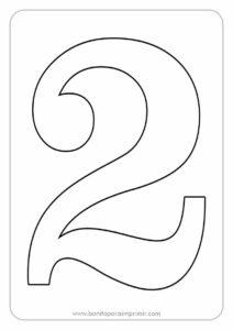números para imprimir pdf