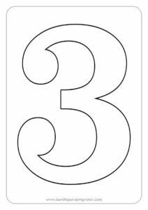 números para imprimir