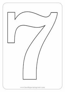 moldes de numeros para imprimir