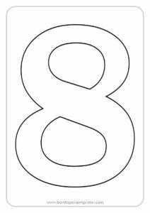 números para imprimir del 1 al 10