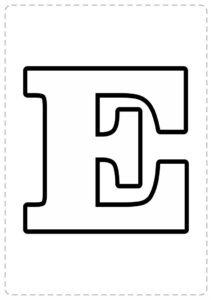 moldes de letras para imprimir en word
