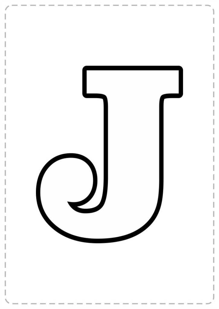 letras para imprimir para ninos