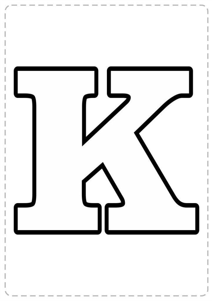 abecedario para imprimir letra por letra