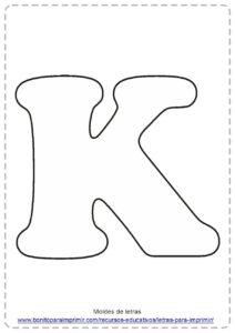 LETRA K PDF