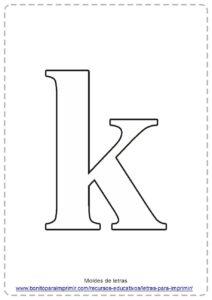 IMAGENES DE LETRA K