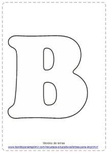 LETRA B PDF