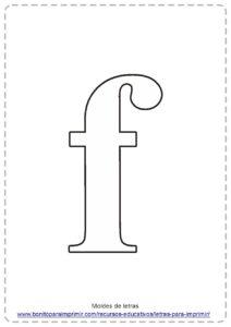 LETRA F PDF