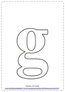 LETRA G PDF