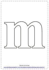 LETRA M PDF