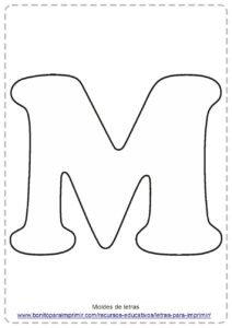 IMAGENES DE LETRA M