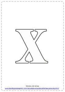 LETRA X PDF