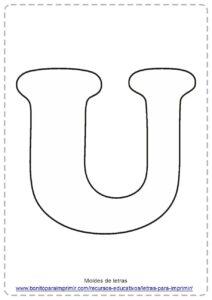 LETRA U PDF