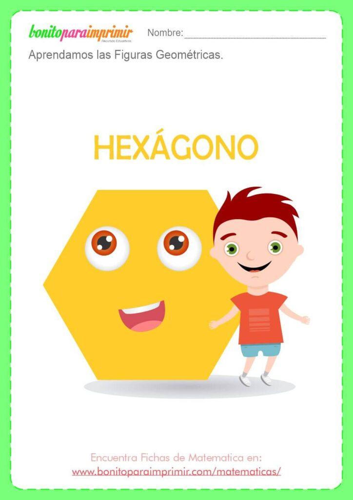 ficha del hexagono