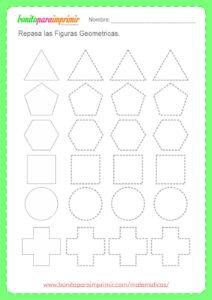 fichas de figuras geométricas