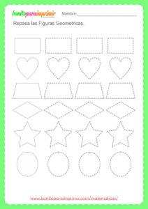 ejercicios de figuras geométricas