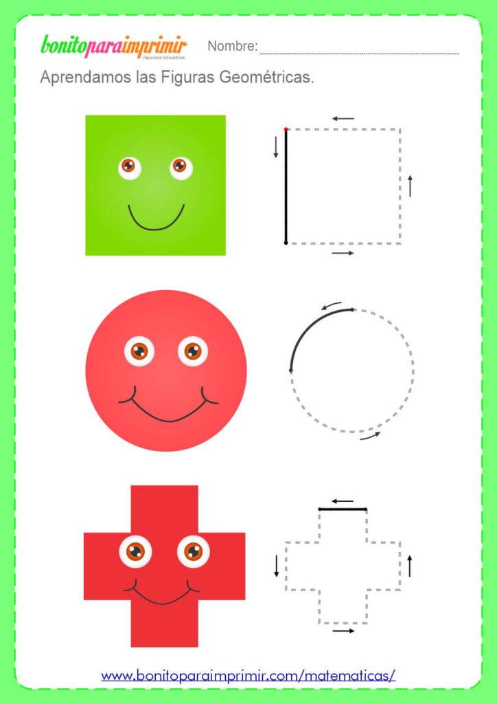 ejercicios de formas geometricas